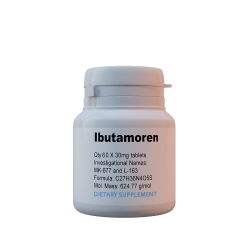 Ibutamoren 60caps*30mg USA ( Ибутаморен / MK-677 )