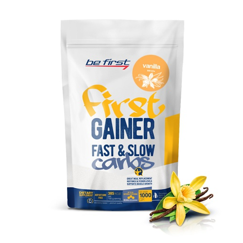 First Gainer Fast & Slow Carbs (1000г)